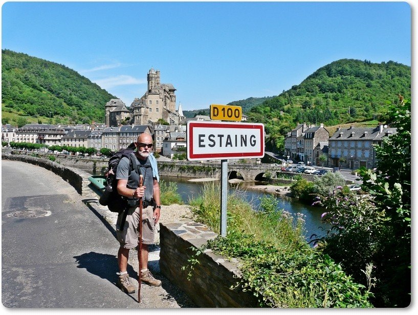 Ankunft in Estaing